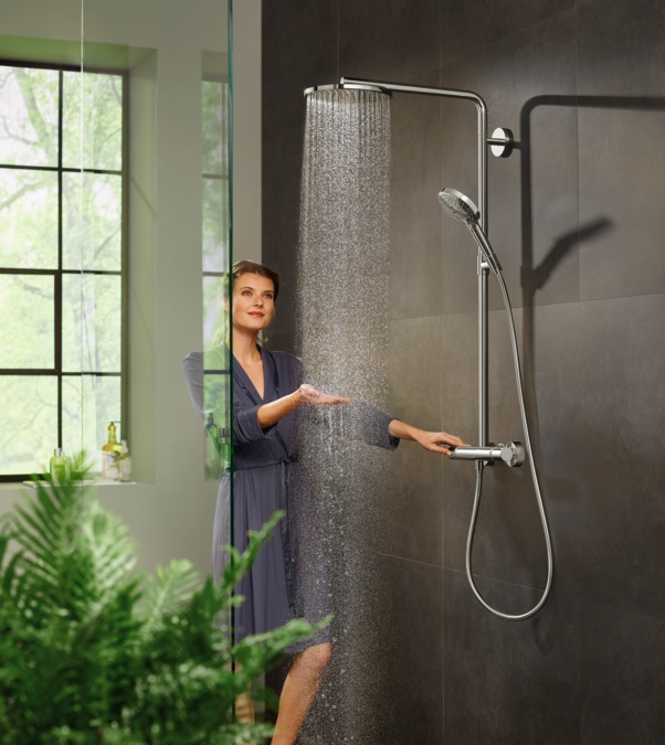HANSGROHE RD Select S 240 1j PowderRain  душ.система